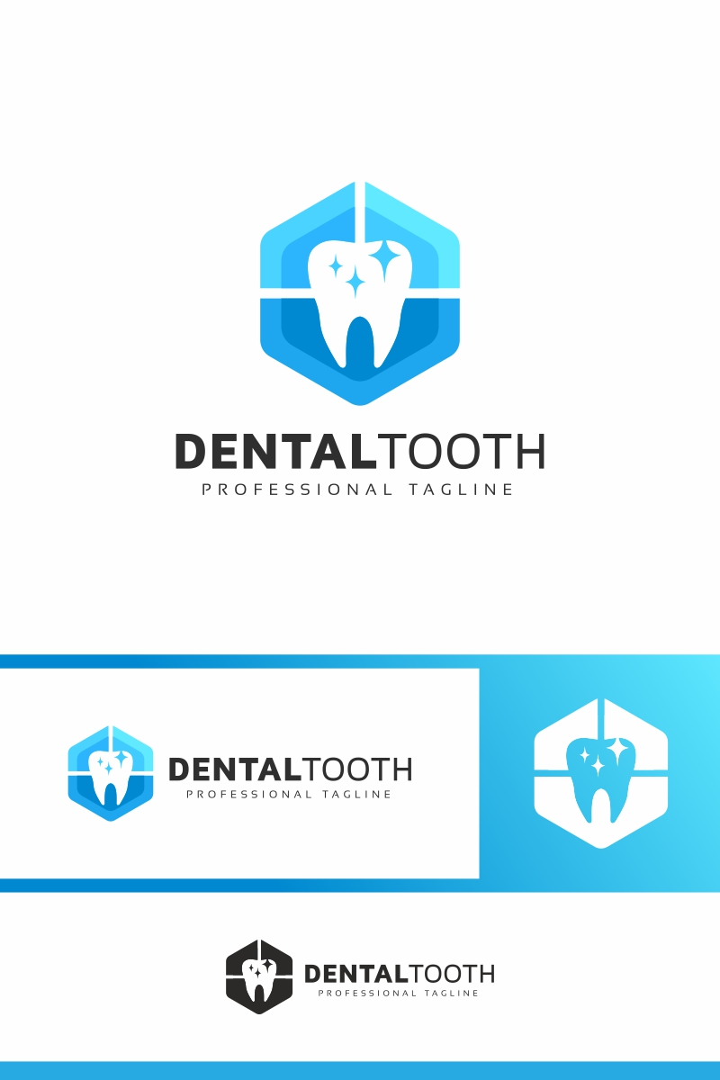 """Dental Tooth"" Logo template №94029"