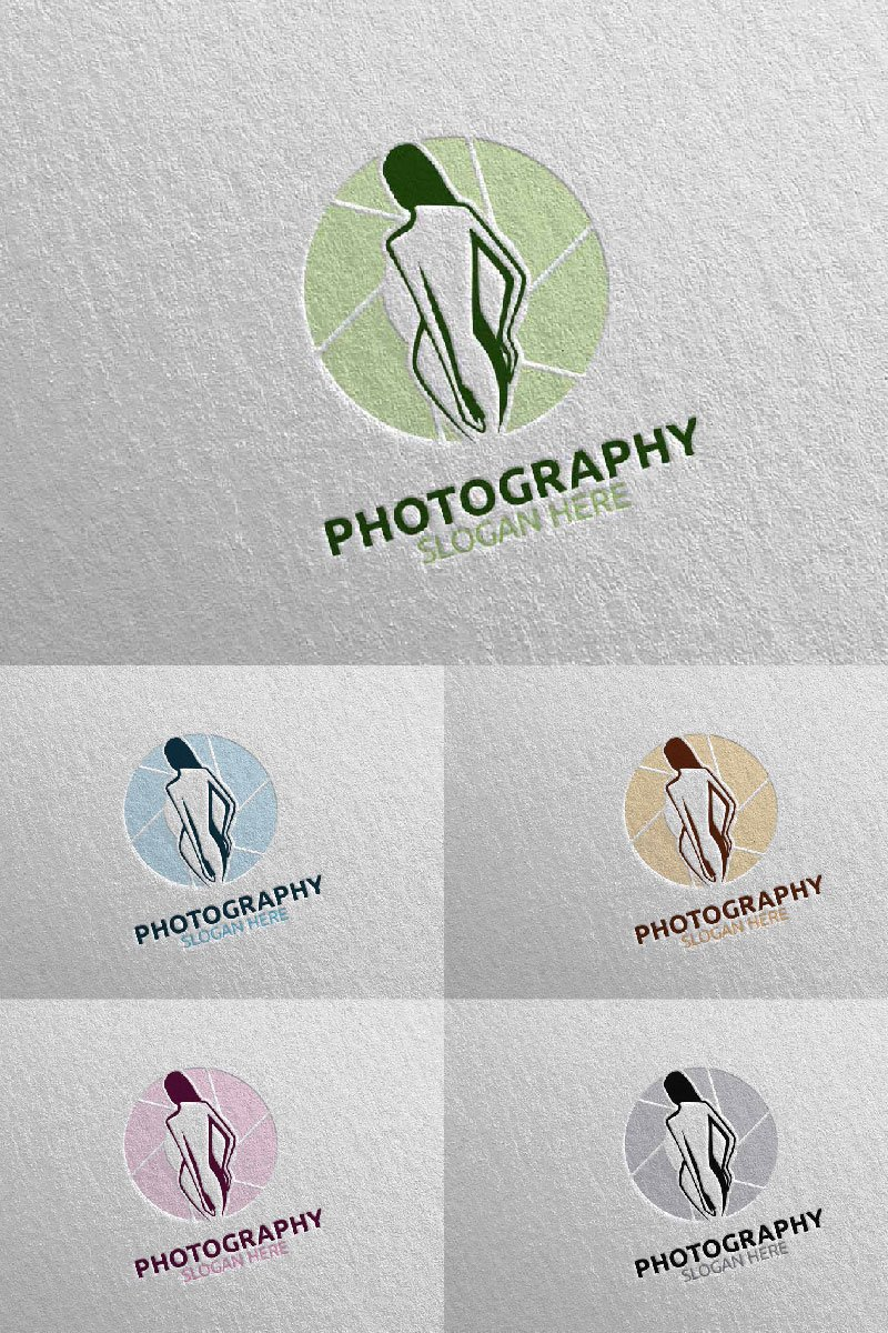 Fashion Camera Photography 26 Logo Template