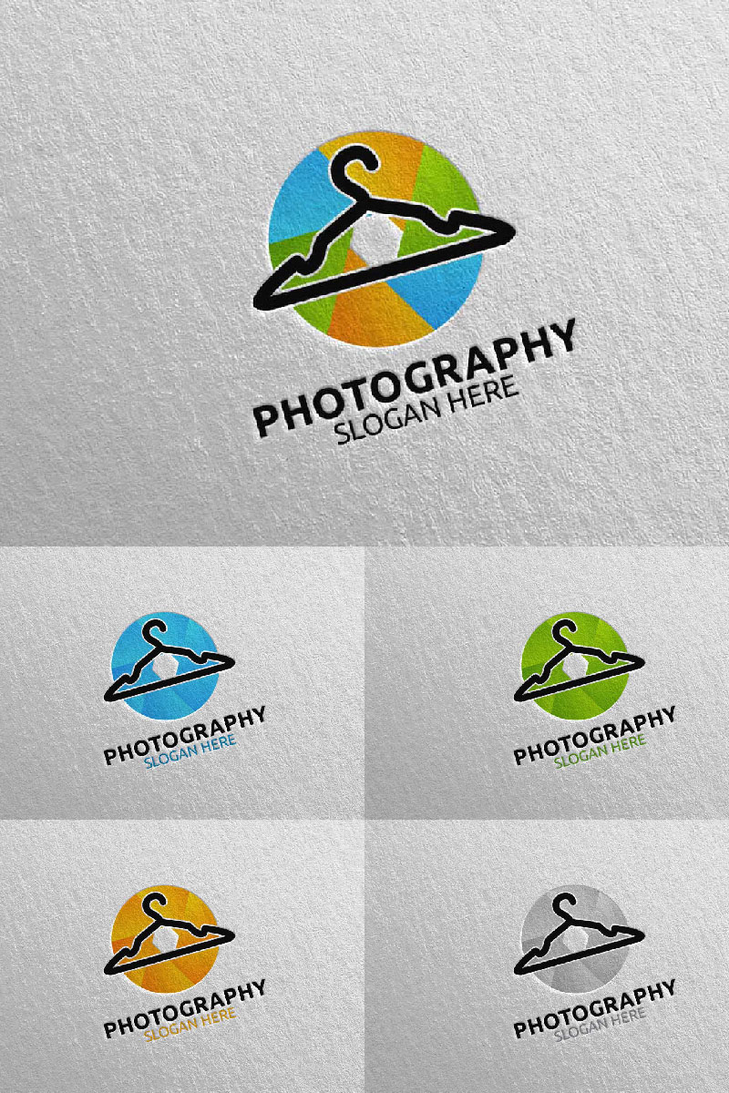 """Fashion Camera Photography 28"" Logo template №94039"