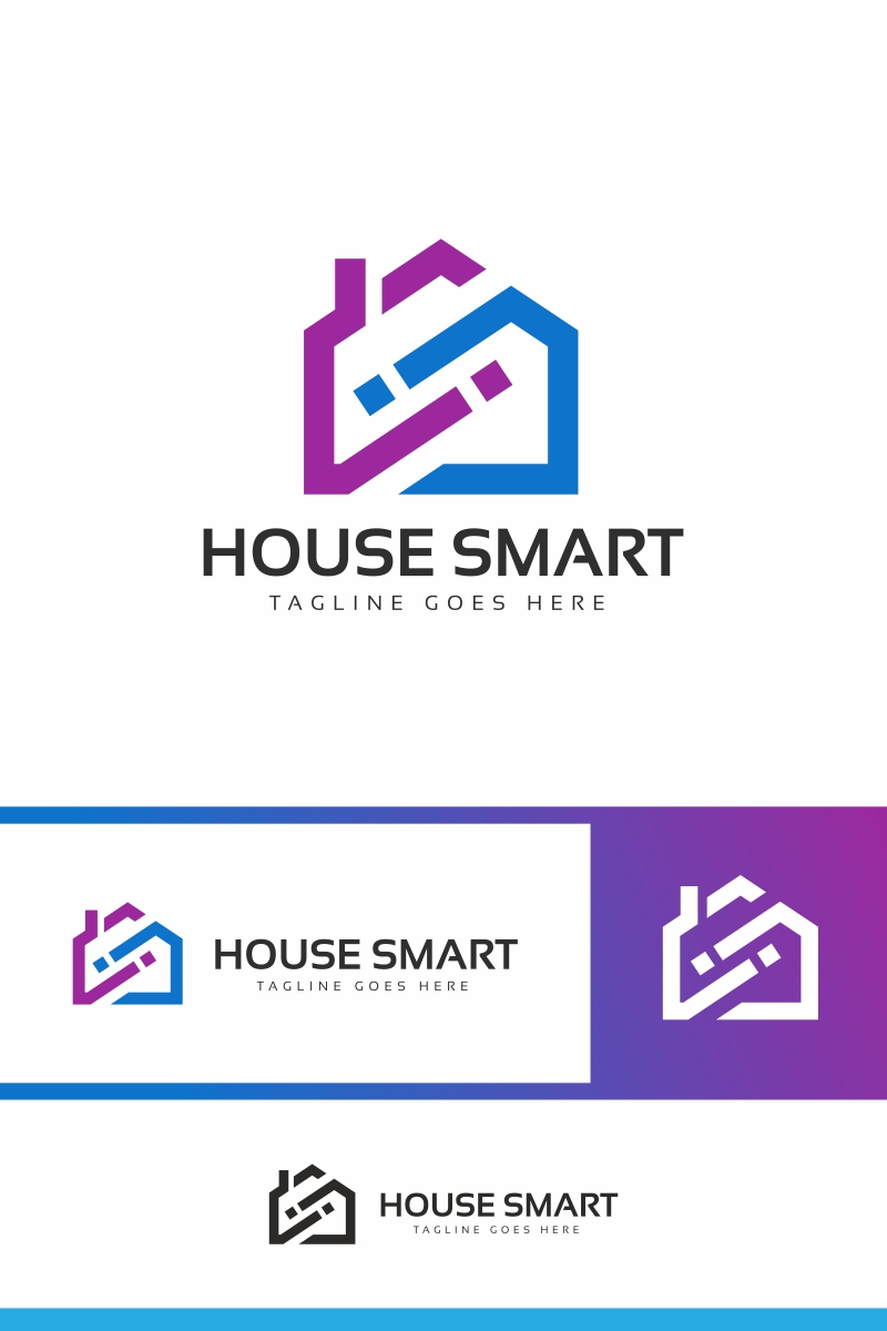"""House Infinity"" logo标志模板 #94034"