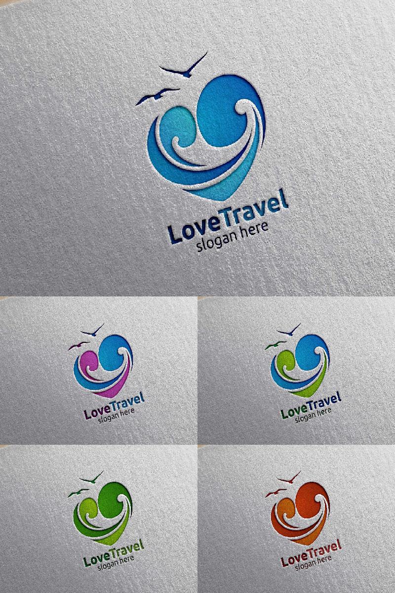 "Logo Vorlage namens ""Travel with Love"" #94044"