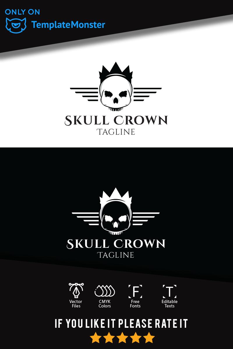 Skull Unika logotyp mall #94047