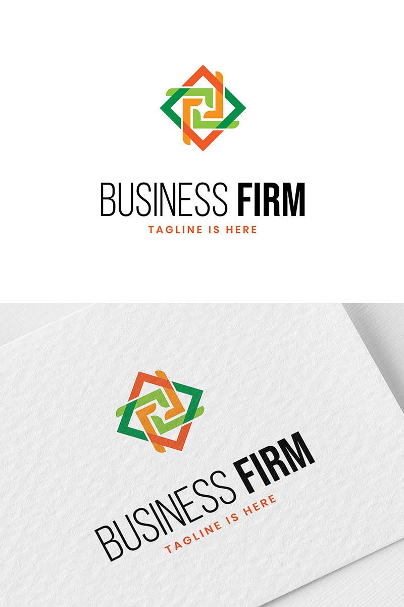 Szablon Logo Business firm #94008