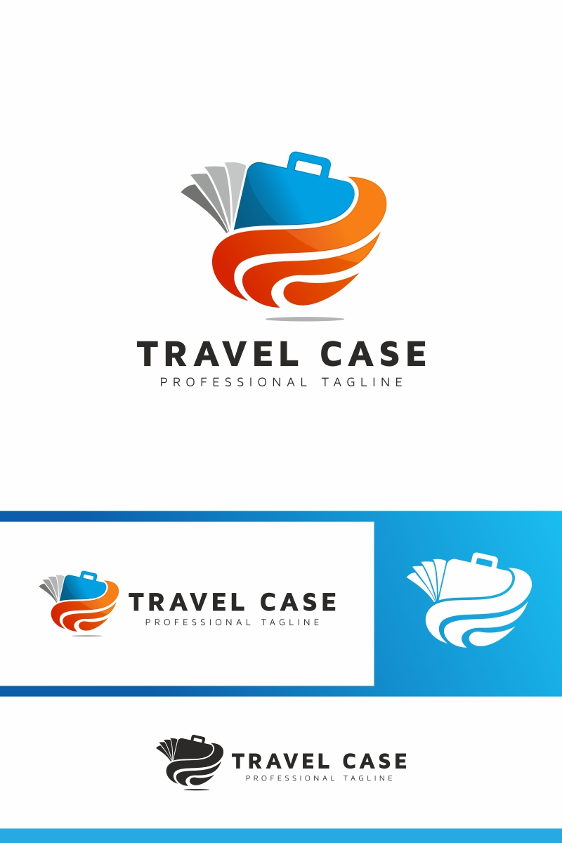 Travel Case Logo Template