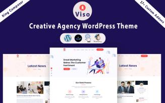 VISO - Creative Agency WordPress Theme