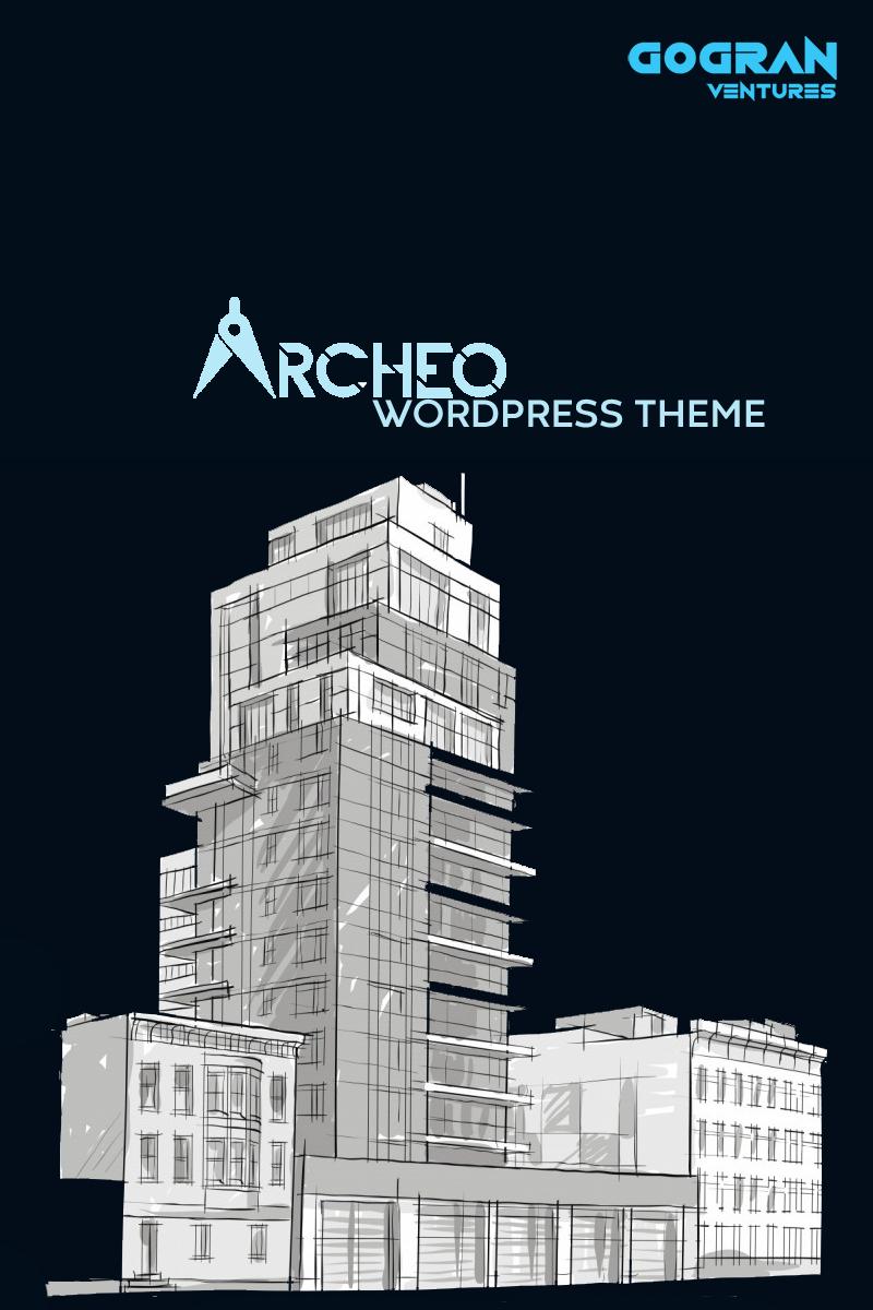"""Archeo"" WordPress模板 #94145"