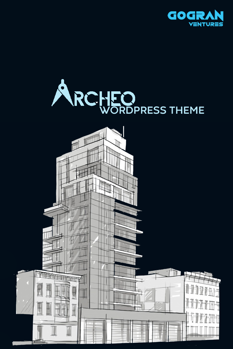"WordPress Theme namens ""Archeo"" #94145"