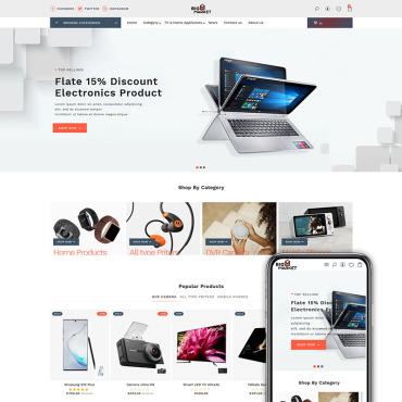 Купить  пофессиональные Shopify шаблоны. Купить шаблон #94210 и создать сайт.