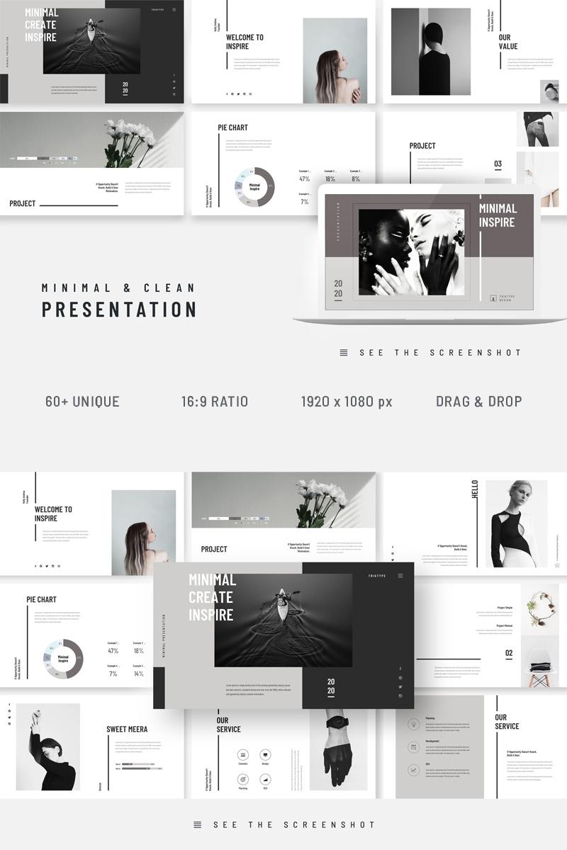 Inspire Minimal Clean Presentation Template Google Slides №94287