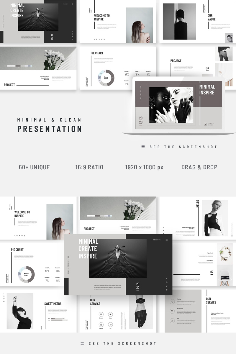 Inspire Minimal Clean Presentation Template Google Slides