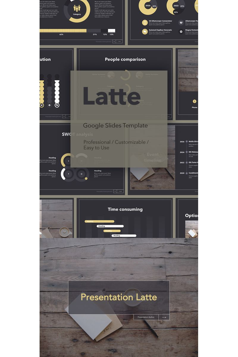 Latte Google Slides #94292