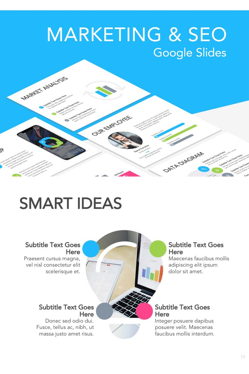 Marketing & SEO Google Slides №94290