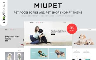 MiuPet - Pet Accessories and Pet Shop Shopify Theme