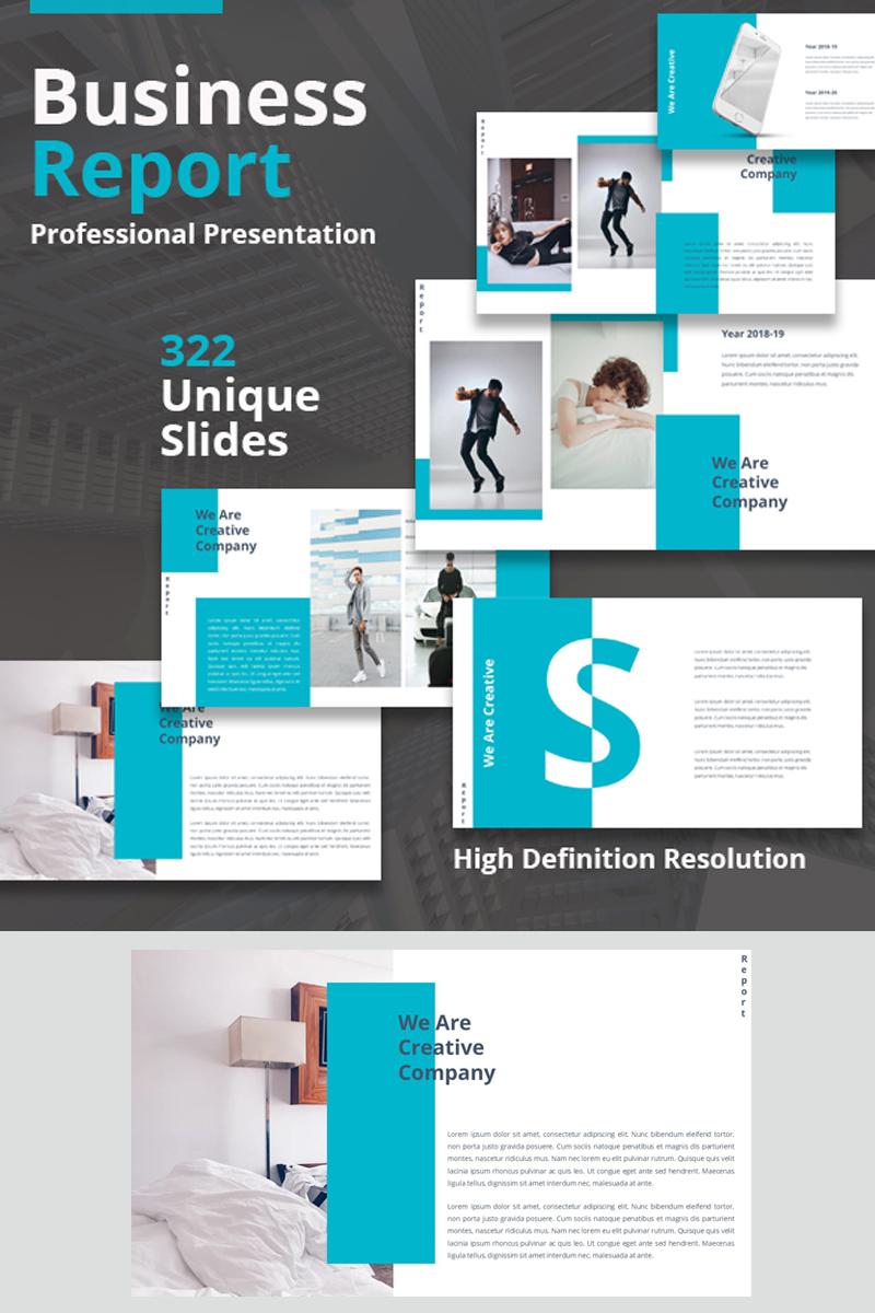 "Plantilla PowerPoint ""Report Presentation"" #94233"