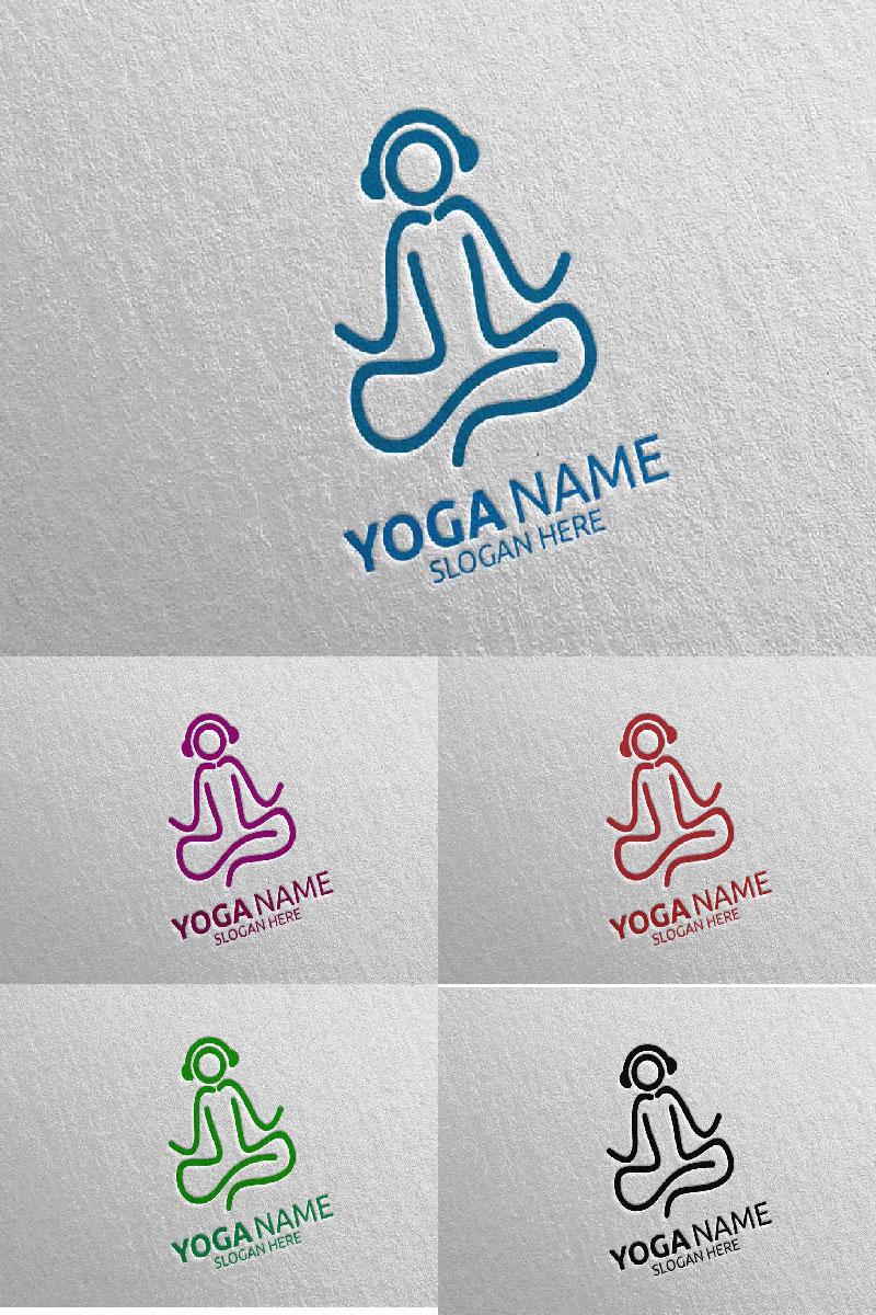 Szablon Logo Yoga 57 #94297