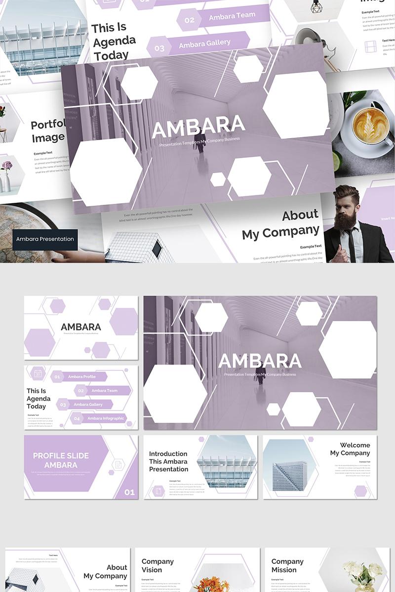 """Tema PowerPoint #94242 """"Ambara"""""""