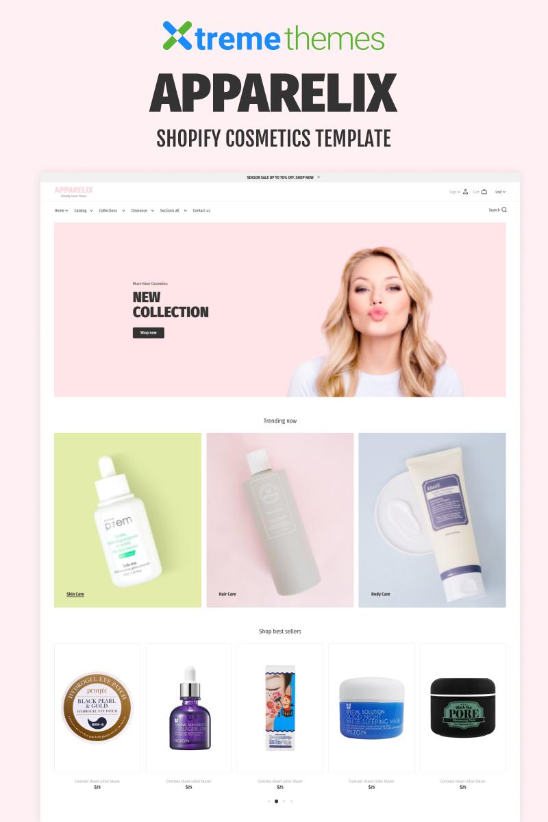 "Tema Shopify ""Korean Cosmetics Store"" #94208 - captura de pantalla"