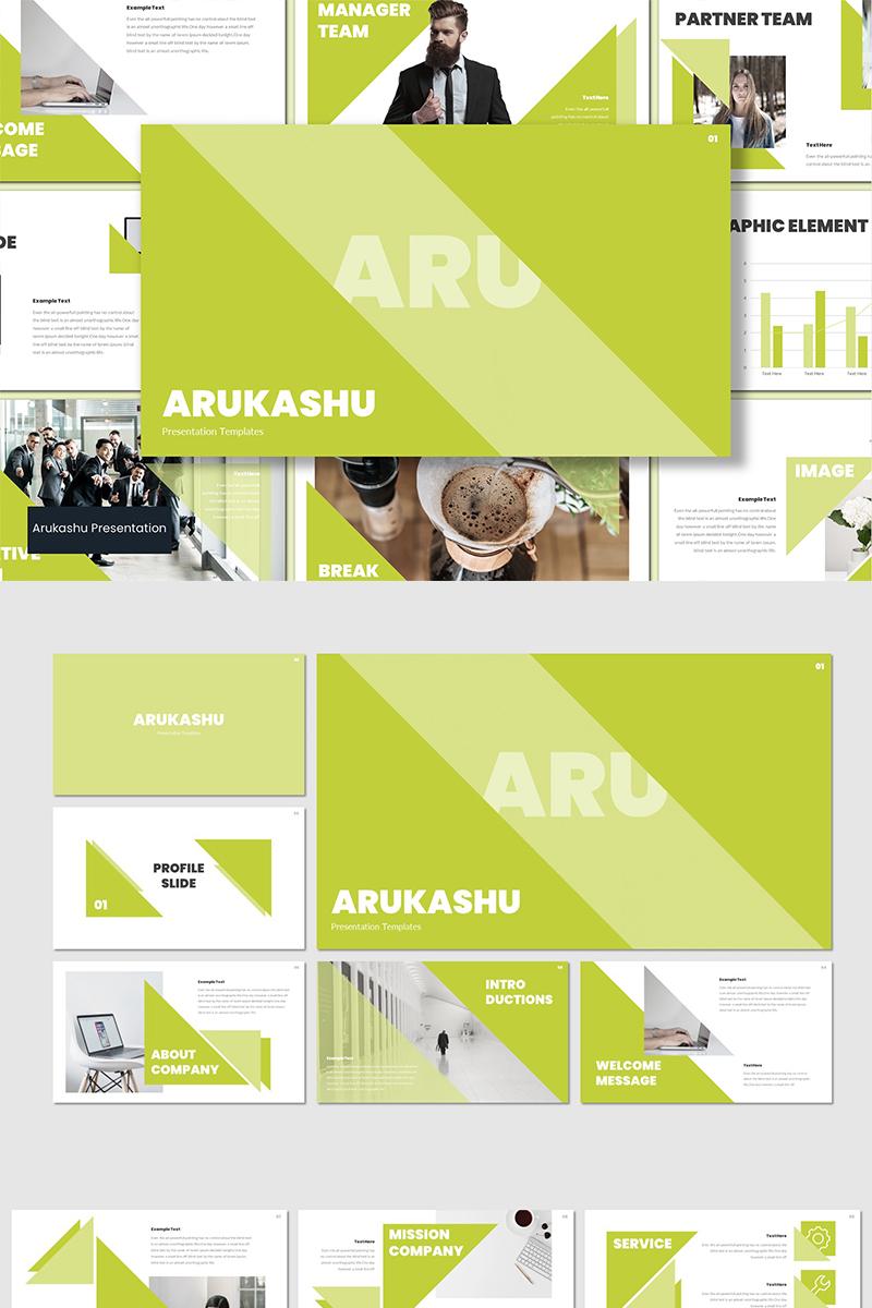 "Template PowerPoint #94237 ""Arukashu"""