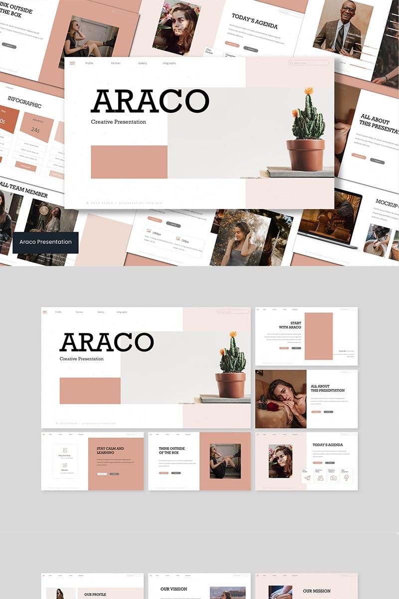 "Template PowerPoint #94240 ""Araco"""