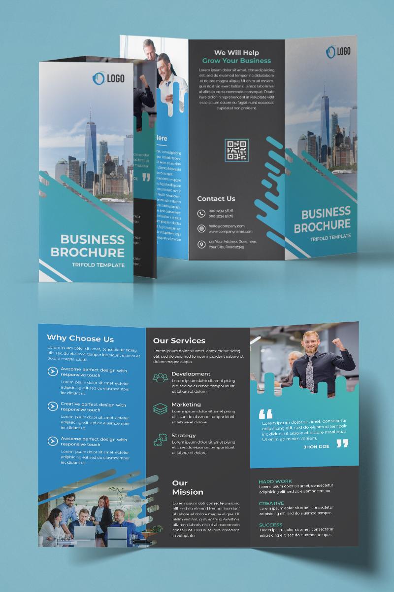 Trifold Brochure Design Kurumsal Kimlik #94220
