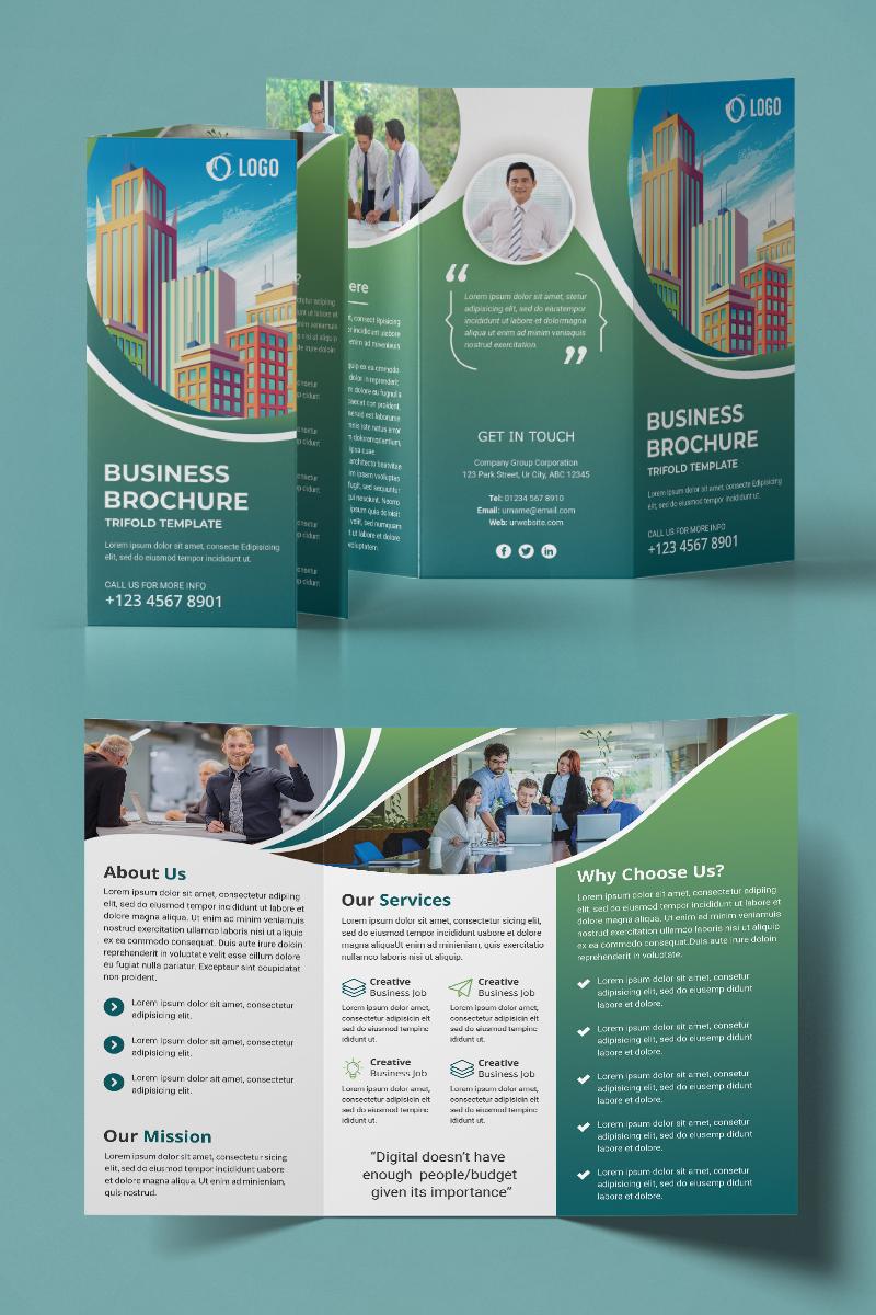 Trifold Brochure Design Kurumsal Kimlik #94223