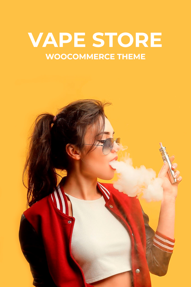 "WooCommerce Theme namens ""Vipex - Vape Store"" #94296"