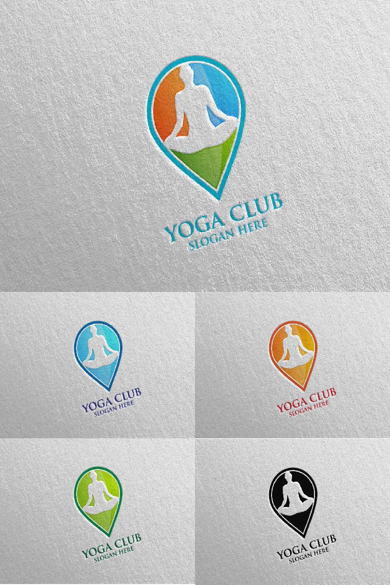 """""""Yoga Club 55"""" modèle logo  #94299"""