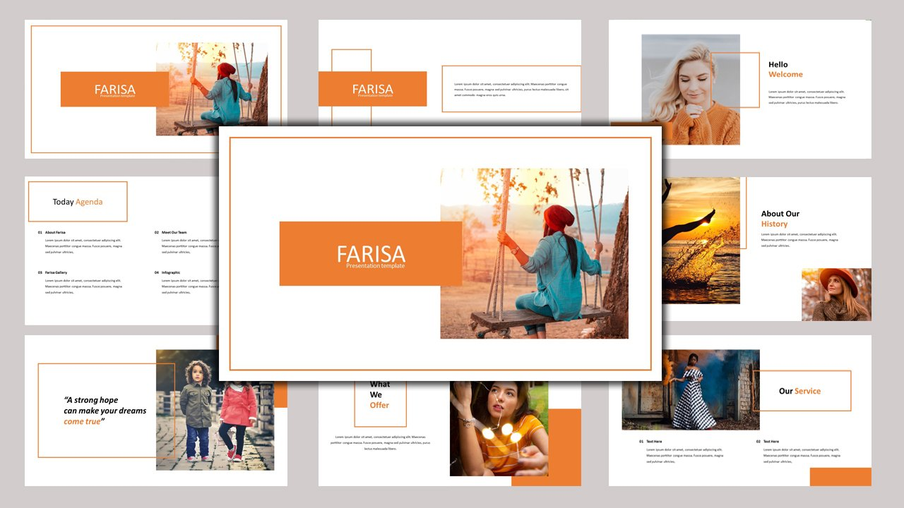 Farisa - Creative Business PowerPoint Template