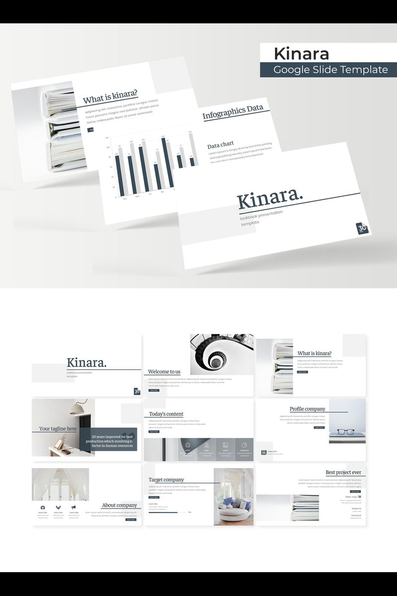 Kinara Google Slides - screenshot