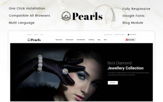 Pearls - Jewellery Store PrestaShop Theme