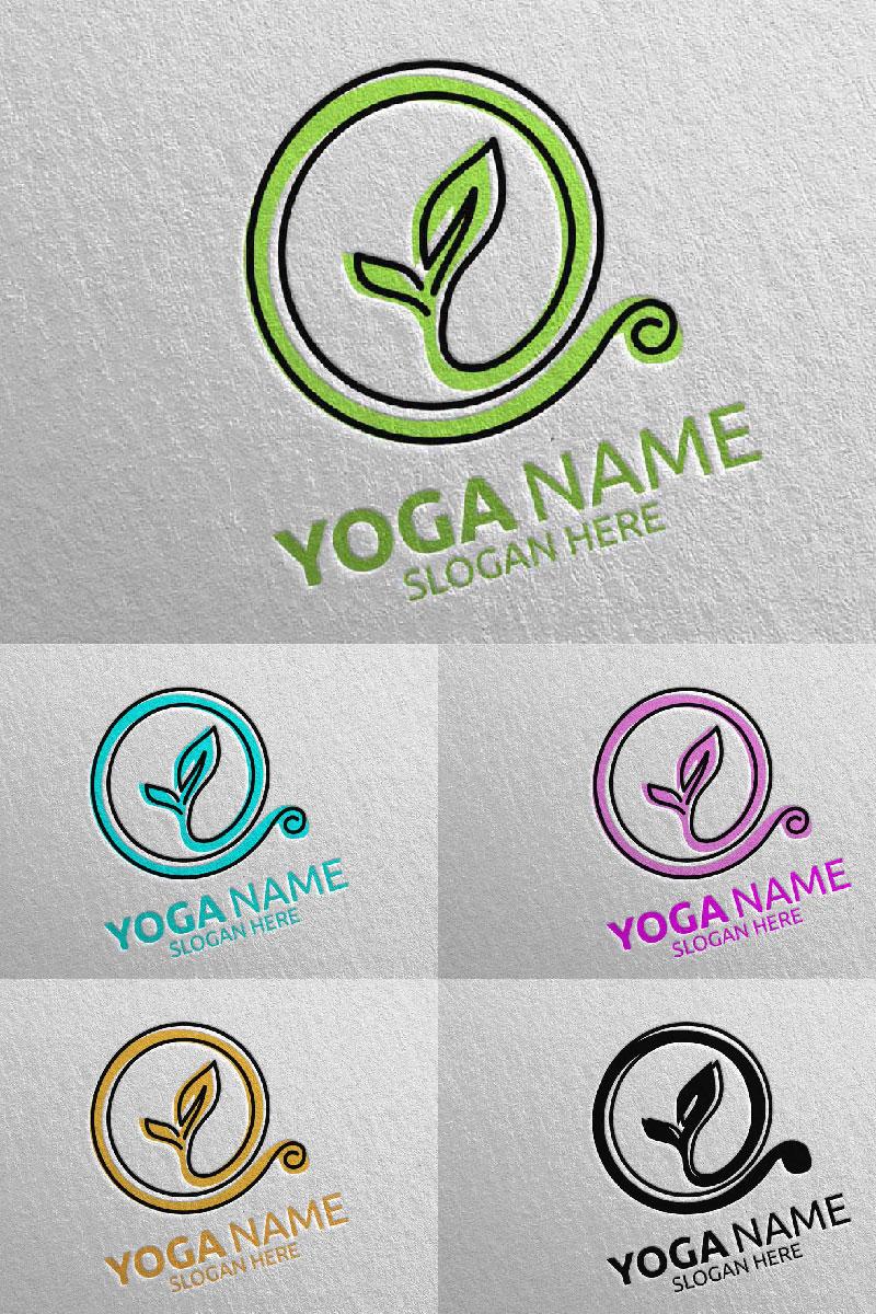 """Plantilla De Logotipo """"Yoga 44"""" #94312"""