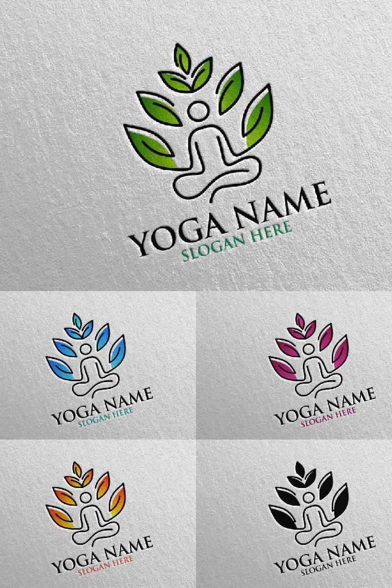 """Plantilla De Logotipo """"Yoga 45"""" #94311"""