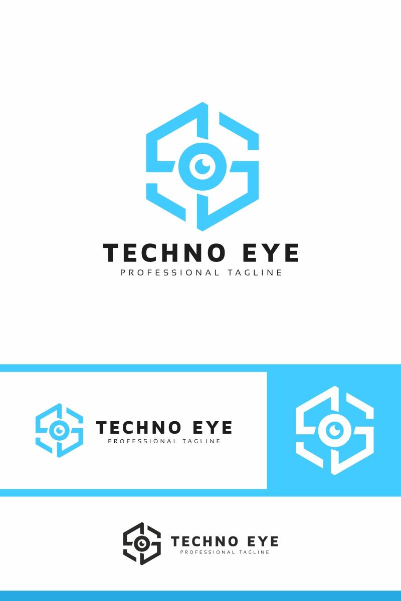 """Techno Eye"" Logo template №94307"