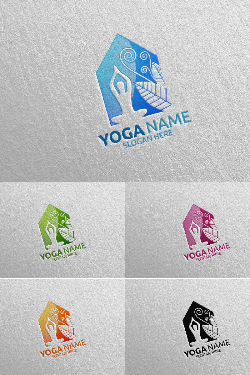 """Yoga 49"" Logo template №94305"