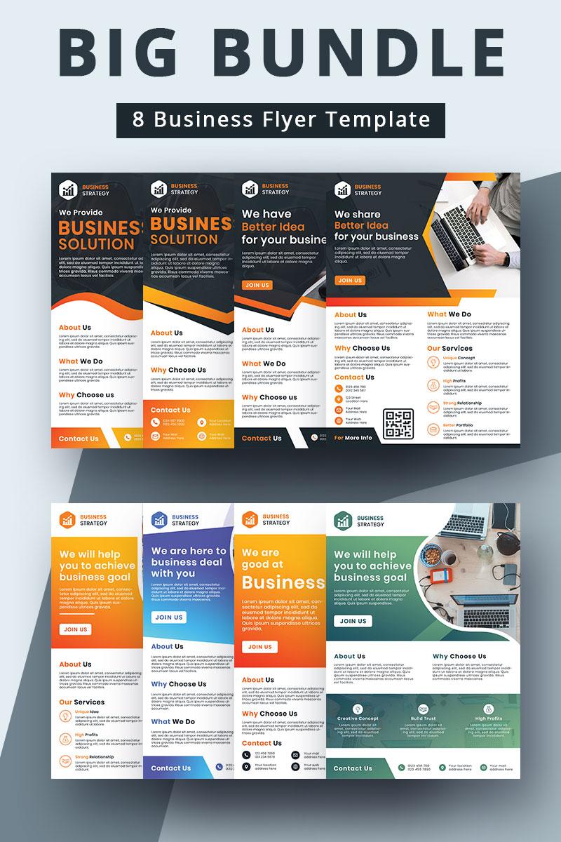 Business Flyer Bundle Corporate Identity Template