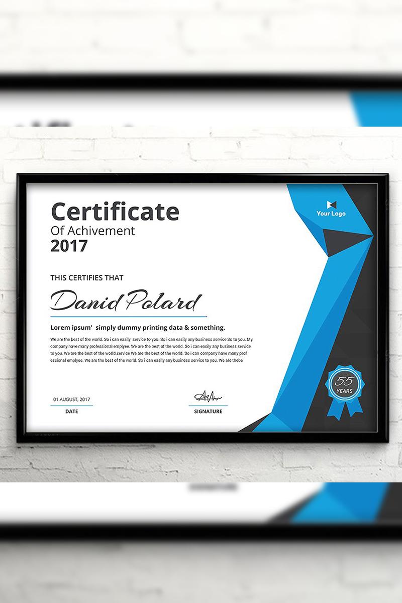 Century Elegant Certificate Template #94427
