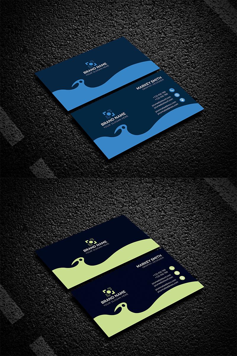 """Modello di Identità Aziendale #94445 """"Business Card"""""""