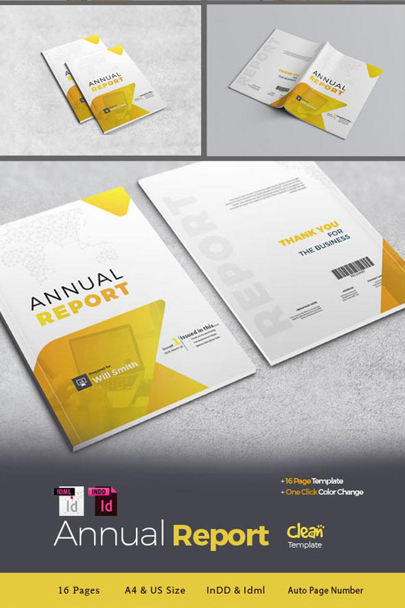 """Template di Identità Aziendale #94450 """"Company Annual Report -"""""""