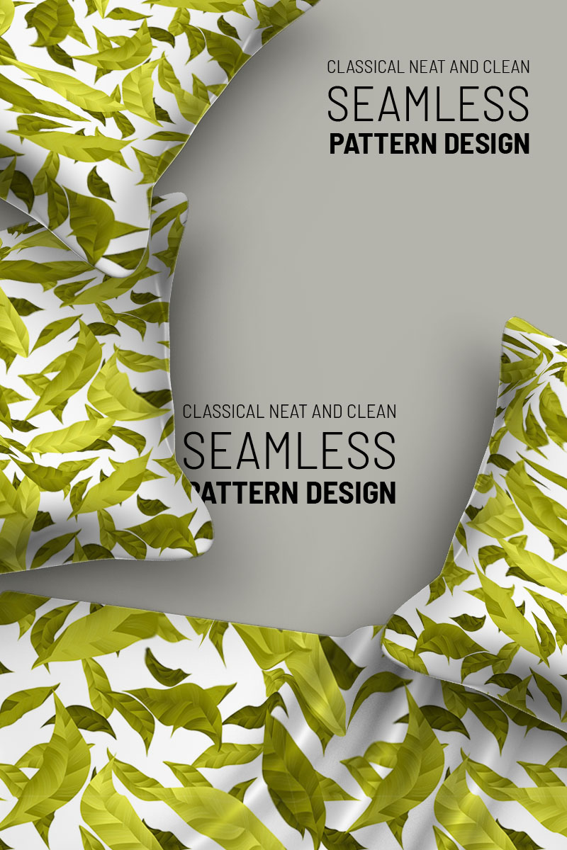 Tiny beautiful seamless floral design Pattern