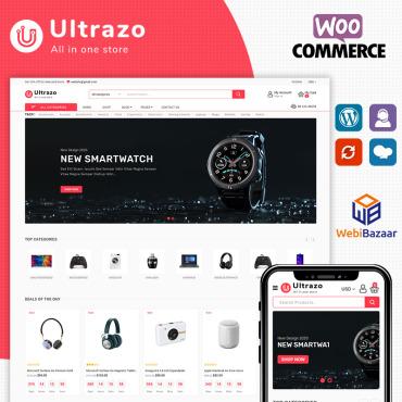 Купить  пофессиональные WooCommerce шаблоны. Купить шаблон #94540 и создать сайт.