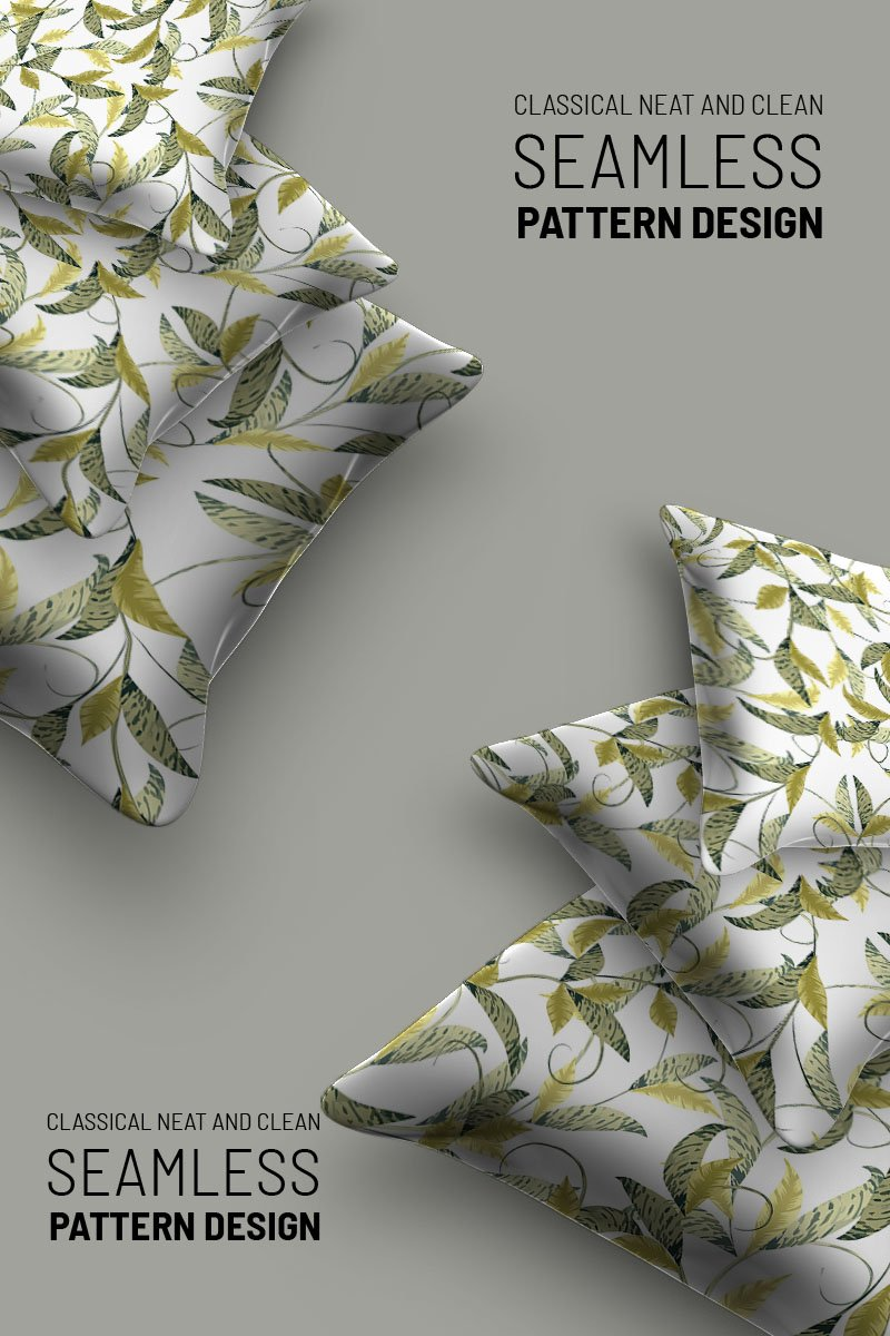 Abstract florla seamless design Pattern