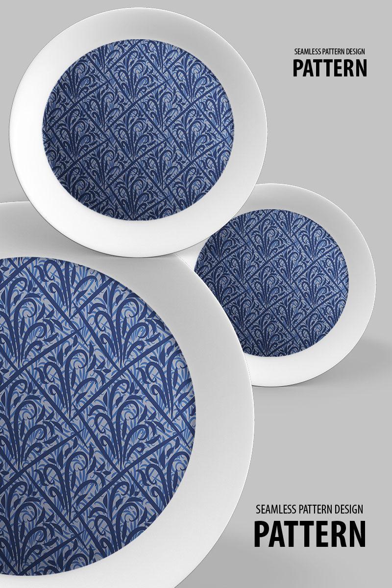 """Classic beautiful seamless repeat design"" pattern  #94511"