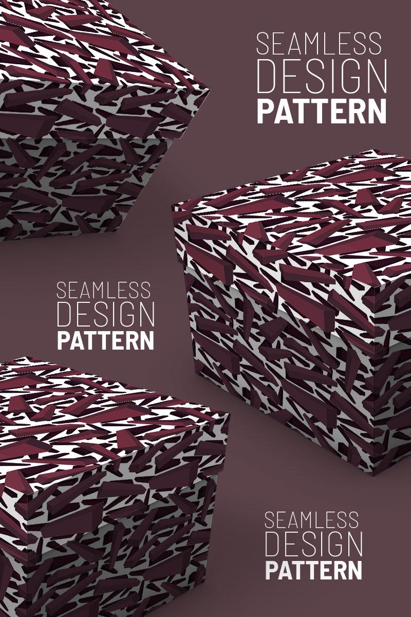 """""""3d bars randomly scattered"""" pattern  #94526"""