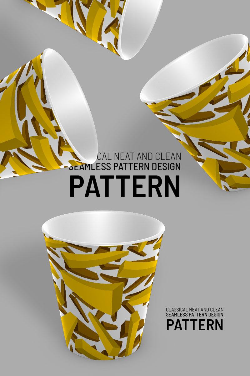 """""""3d sticks randomly scattered"""" pattern  #94528"""