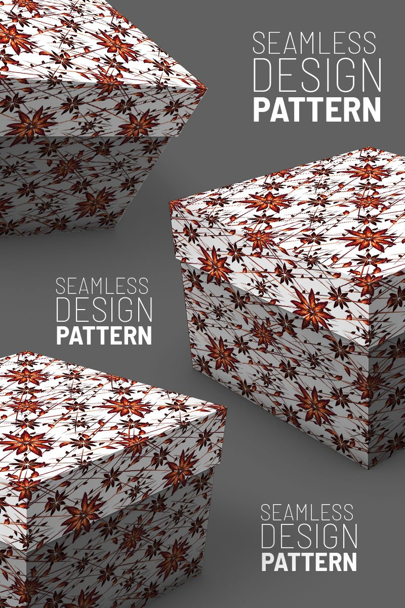 """Pattern """"Abstract desing stars and lines random"""" #94504"""