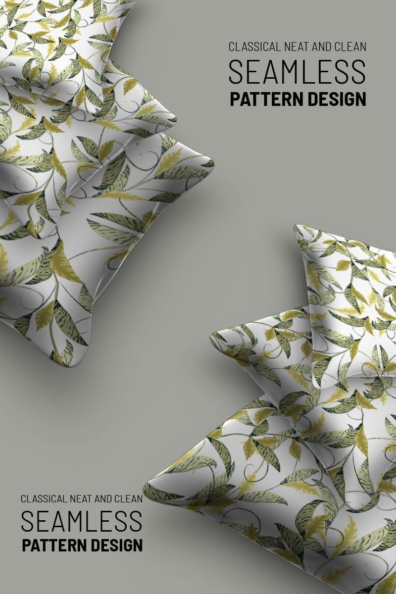 "Pattern ""Abstract florla seamless design"" #94500"