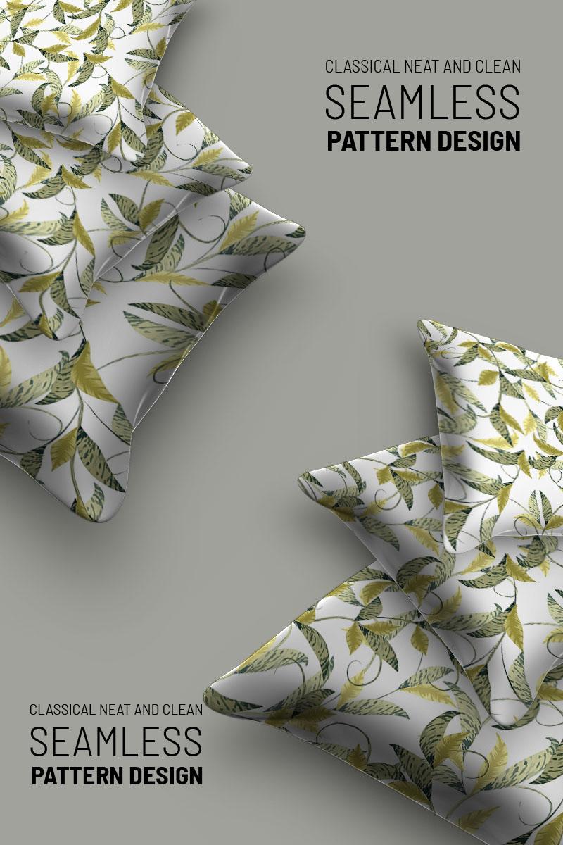 "Pattern namens ""Abstract florla seamless design"" #94500"