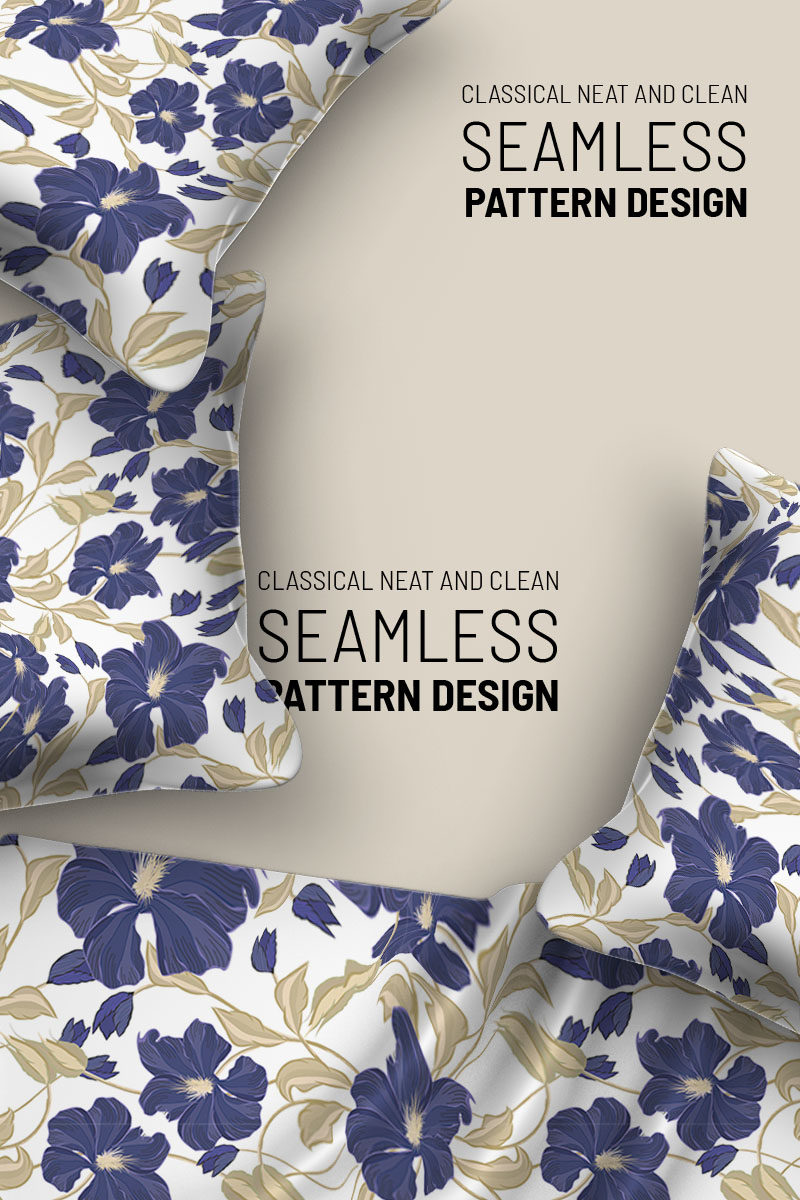 """Pattern namens """"Abstract flower and classic branches"""" #94506"""