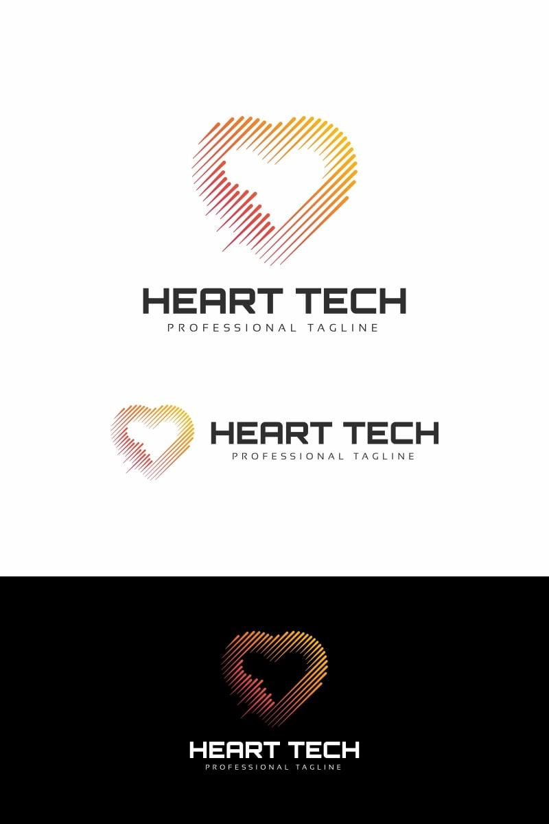 Heart Technology Logó sablon 94681