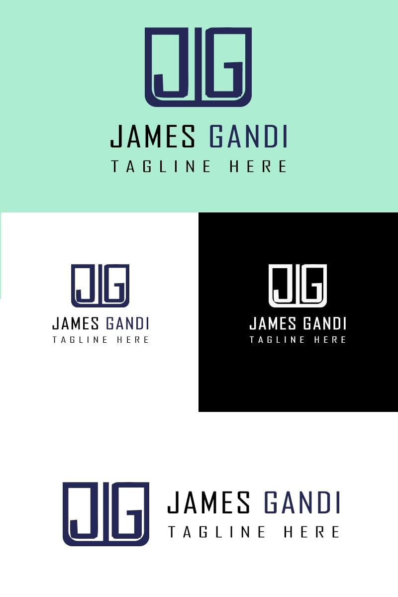 James Gandi Logo Template